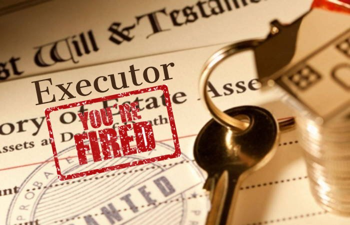 A Will With The Words Executor You're Fired!
