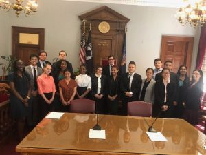 Daniel J. Reiter, Esq. Speaks to Richmond County Surrogate's Court Interns
